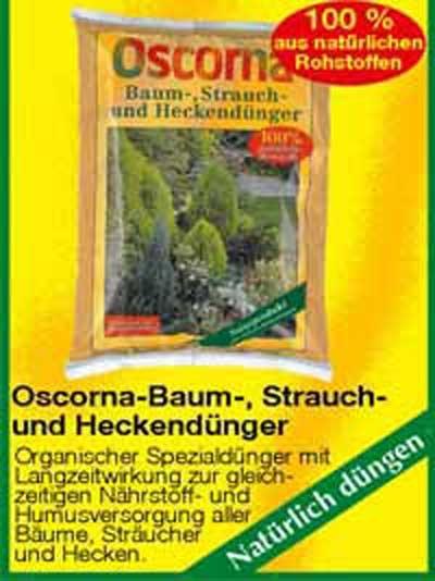 Oscorna-Baum-, Strauch- und Heckendünger / Oscorna-Baum-, Strauch- und Heckendünger